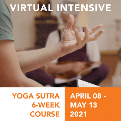 Yoga Sutra Intensive Online Course April 2021